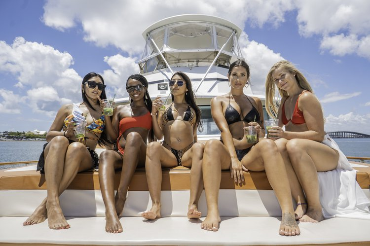 Motor yacht boat rental in Lummus Park, FL