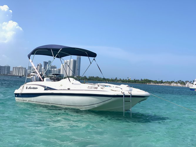 Boat for rent Hurricane 19.0 feet in Holland Park Boat Ramps, FL