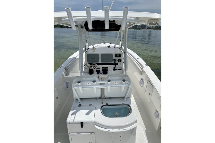 Boating is fun with a Center console in Key Biscayne