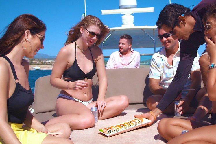 Express cruiser boat rental in IGY Marina Cabo San Lucas, Mexico