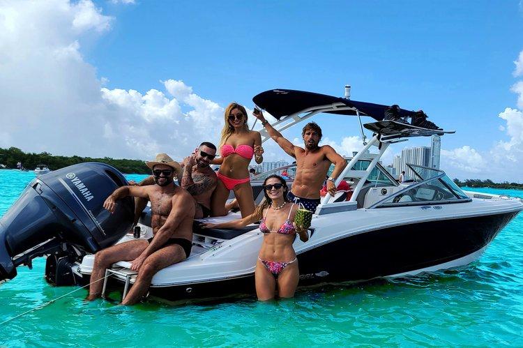 Deck boat boat rental in Bill Bird Marina - Haulover Beach Park, FL