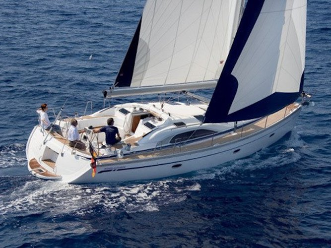 Take this Bavaria Yachtbau Bavaria 44 for a spin!