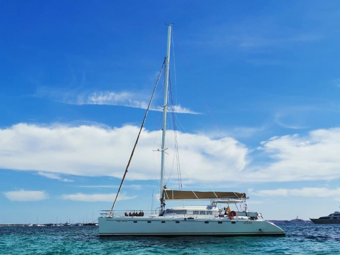 Get on the water and enjoy Vilanova i la Geltru in style on our Fountaine Pajot Marquises 56