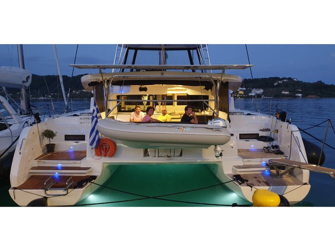 All you need to do is relax and have fun aboard the Lagoon Lagoon 46 (AC, Gen, Watermaker)