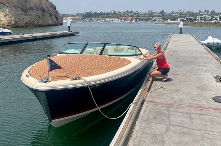 Chris Craft's 27.0 feet in San Diego