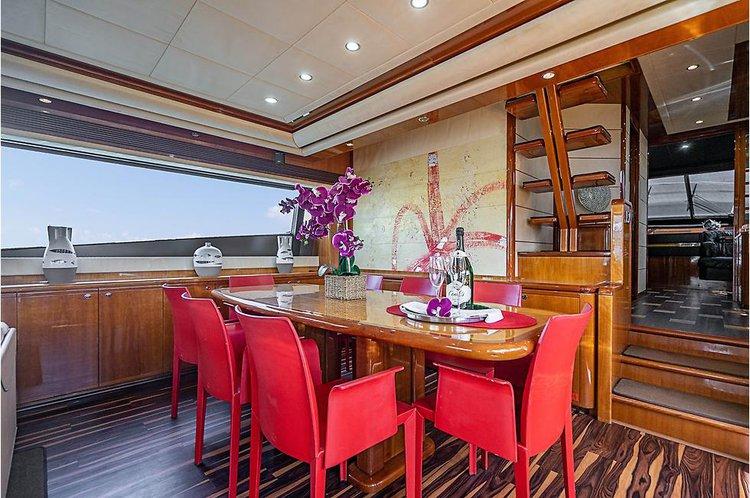 Boat for rent Ferritti 76.2 feet in Miami Beach, FL