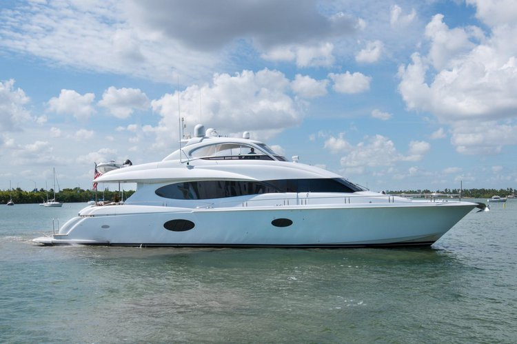 Chip - Lazzara 84 Luxury Yacht in South Florida
