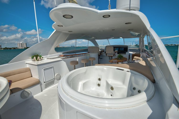 Boating is fun with a Motor yacht in West Palm Beach