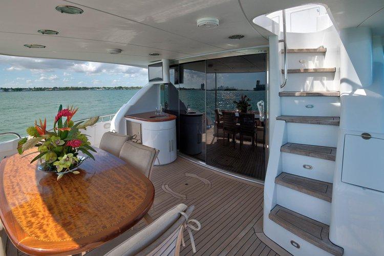 Motor yacht boat rental in West Palm Beach City Dock, FL