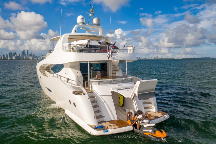 Motor yacht boat rental in Miami Beach, FL