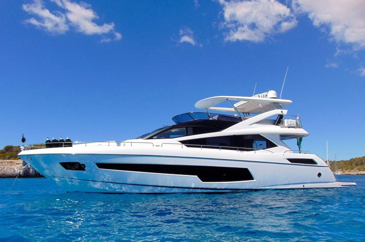 75' Sunseeker Luxury Yacht rental in Cabo San Lucas, Baja California Sur, Mexico