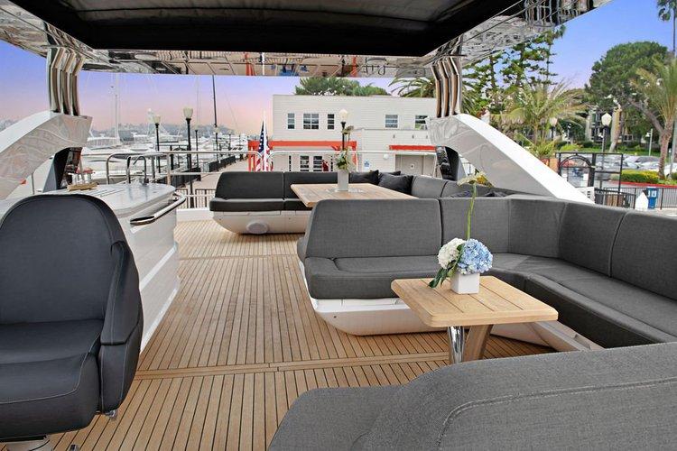 Mega yacht boat rental in Marina del Rey,