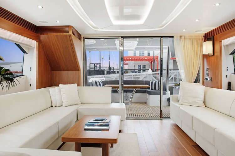 Boating is fun with a Sunseeker in Marina del Rey