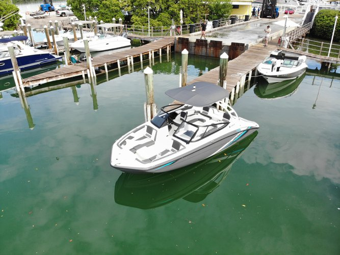 Jet boat boat for rent in Key Biscayne