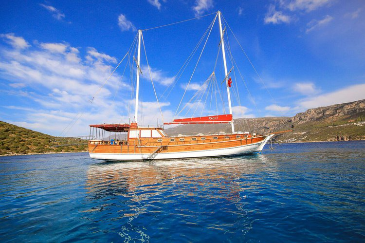 Gulet boat for rent in Göcek