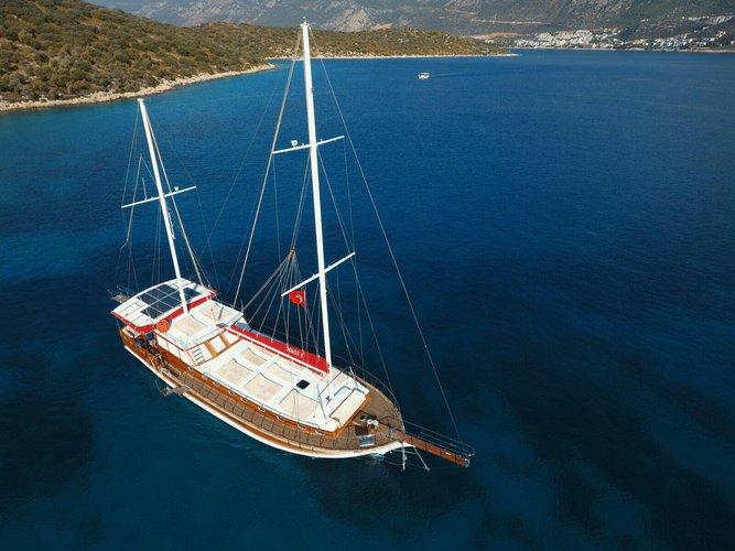 Gulet boat rental in Göcek, Turkey