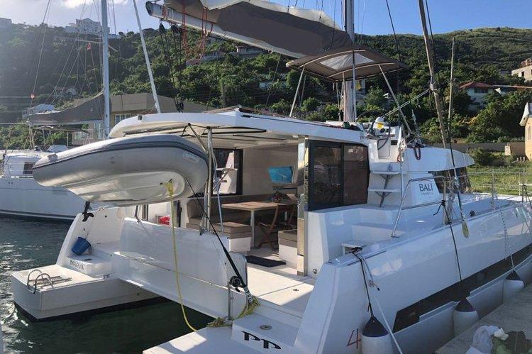 Enjoy sailing in British Virgin Islands onboard this beautiful Bali 4.0