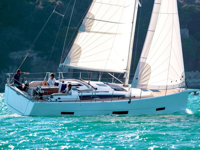 Enjoy luxury and comfort on this Dufour Yachts Dufour 390 in Athens
