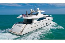 Have fun in the sun on this amazing Miami motor yacht charter