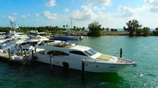 Have a wonderful time in Miami aboard this amazing 80'  motor yacht
