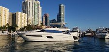 Have fun aboard this stylish Prestige 56 motor yacht
