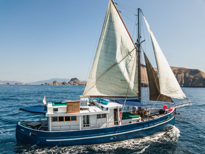 Climb aboard this  Motor sailer for an unforgettable experience