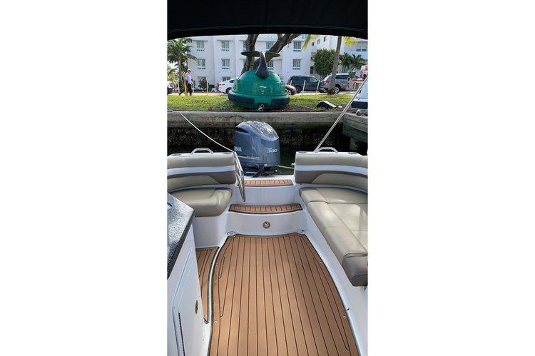 Deck boat boat for rent in Miami Beach