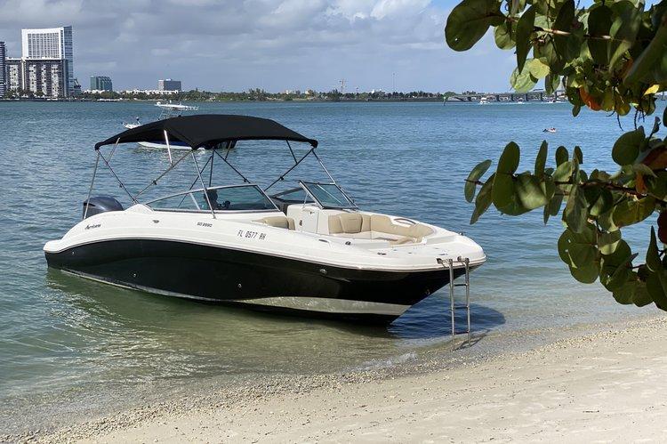 Deck boat boat rental in Miami Beach, FL