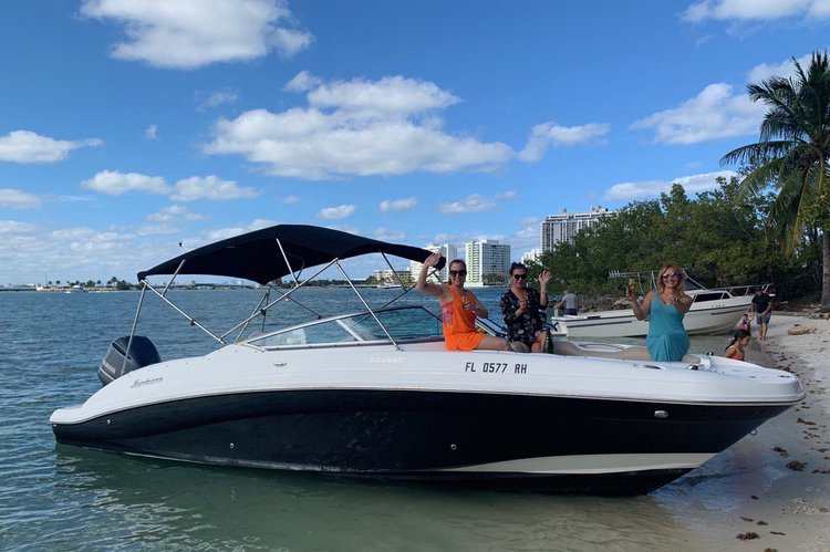 Day of Fun In the Sun by boat!  Boating in Miami… the right way!  Sandbar and Cruising…we got you covered!
