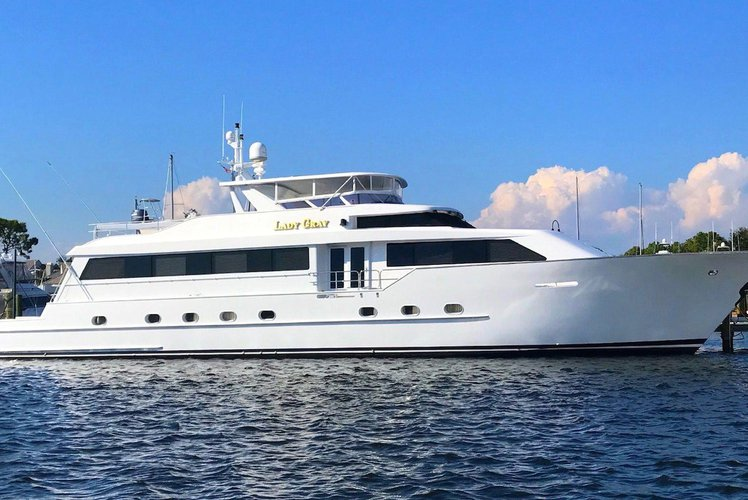 Mega yacht boat rental in Bill Bird Marina - Haulover Beach Park, FL