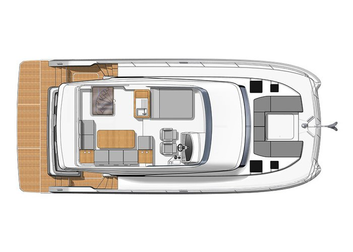 This 42.4' FOUNTAINE PAJOT cand take up to 6 passengers around Key West