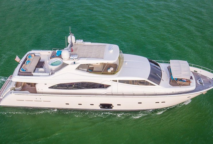 88' Ferretti - Most Elegant Yacht For Term Charters