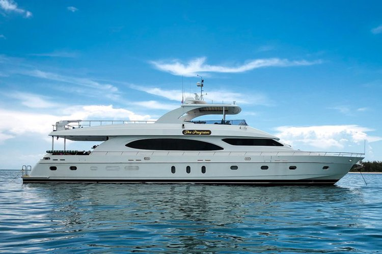 The Program - 97' Hargrave Yacht in South Florida