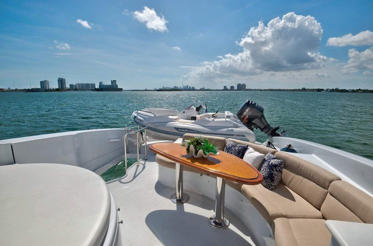 Motor yacht boat rental in Turnberry Marina - 19735 Turnberry Way, Aventura, FL 33180,