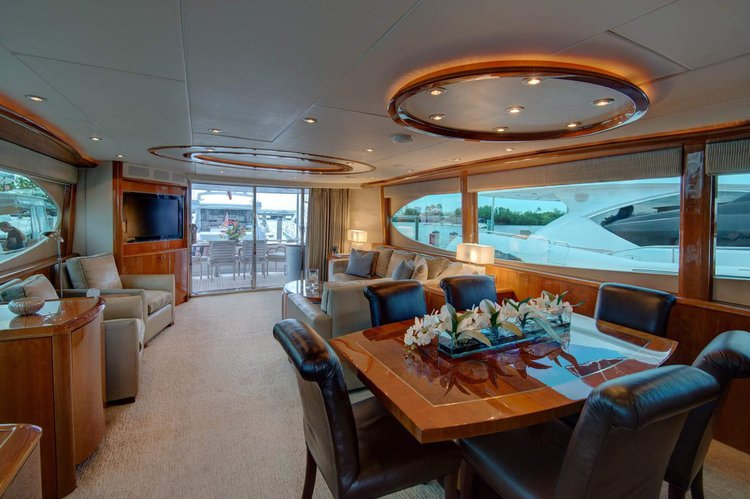 Boat for rent Lazzara 84.0 feet in Turnberry Marina - 19735 Turnberry Way, Aventura, FL 33180,