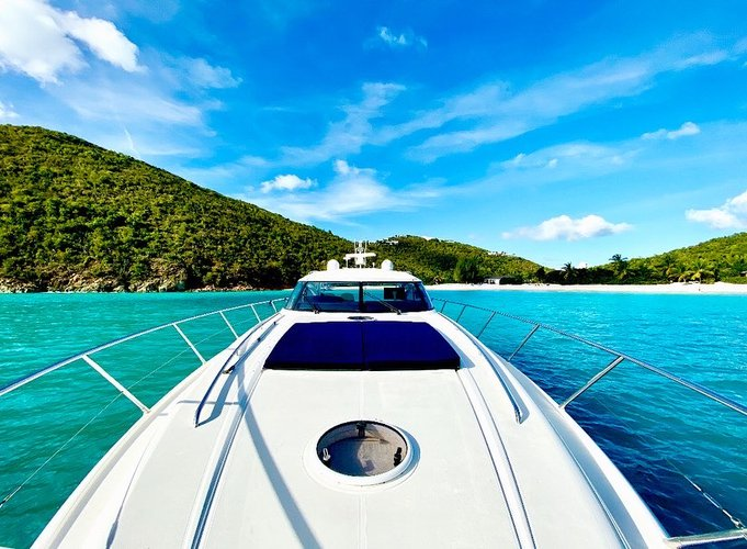 Boating is fun with a Motor yacht in Cruz Bay