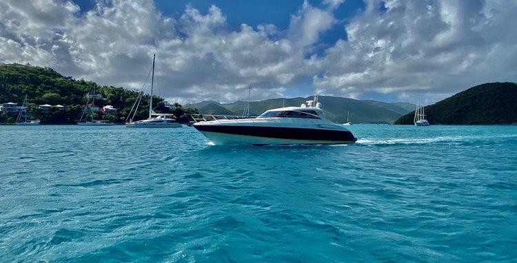 Motor yacht boat for rent in Cruz Bay