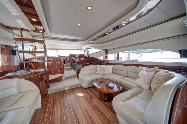Classy & Comfortable - 65' Princess Yacht