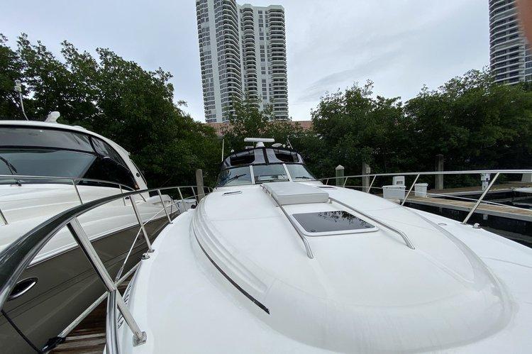 Motor yacht boat rental in Mystic pointe Marina,