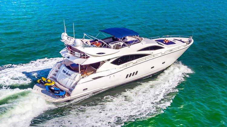Motor yacht boat rental in Turnberry Marina - 19735 Turnberry Way, Aventura, FL 33180,
