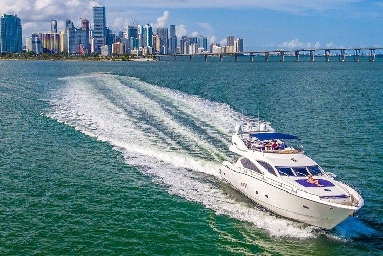 Sunseeker boat for rent in Aventura