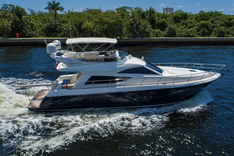 Luxury & Comfort on Water - 55' Italian Fly Bridge