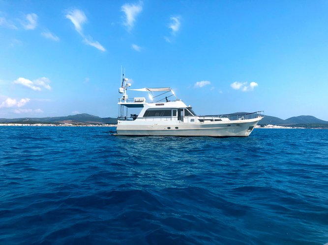 Experience Portisco, IT on board this amazing  Waverunner 55