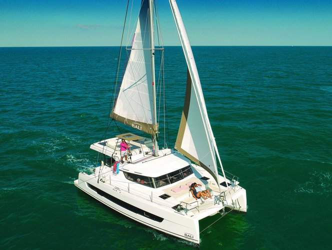 Take this Bali Catamarans Bali Catspace for a spin!