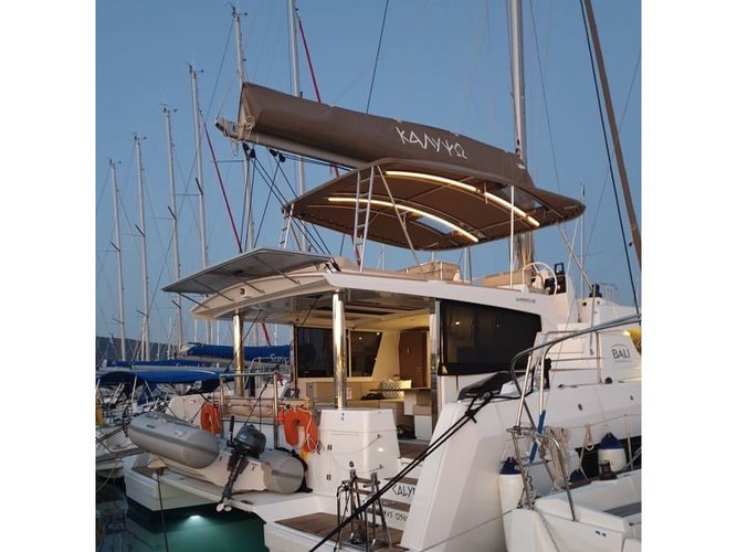 All you need to do is relax and have fun aboard the Bali Catamarans Bali 4.8