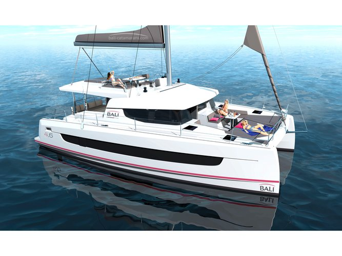 Enjoy luxury and comfort on this Bali Catamarans Bali 4.6 in Athens