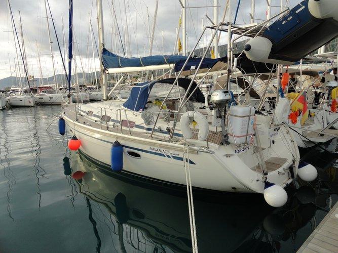 Rent this Bavaria Yachtbau Bavaria 39 Cruiser for a true nautical adventure