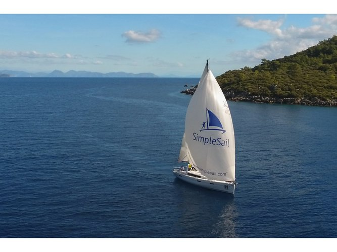 Enjoy Pula, HR to the fullest on our comfortable Beneteau Oceanis 45 (4 cabs)