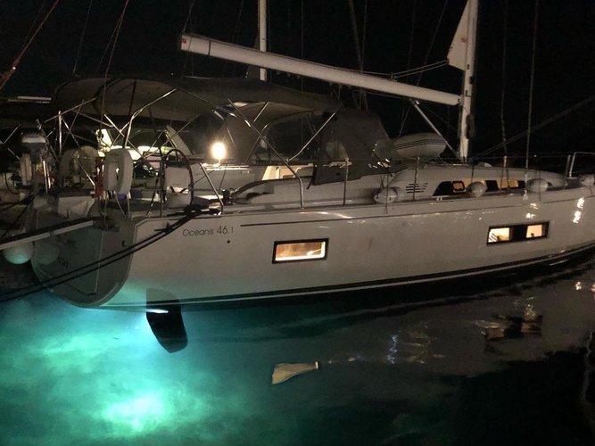 Experience Mykonos, GR on board this amazing Beneteau Oceanis 46.1
