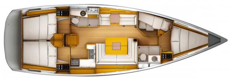 Monohull boat rental in Dinner Key Marina, FL